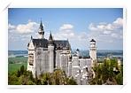 巴伐利亞白色夢幻城堡-新天鵝堡Neuschwanstein Castle
