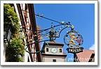 歐洲街道上美麗的鑄鐵招牌