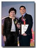 2009年交通部觀光局頒發全國優良領隊陳榮瑞