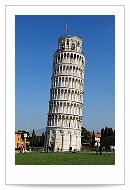 奇蹟般的缺陷-世界奇景比薩斜塔Leaning Tower of Pisa